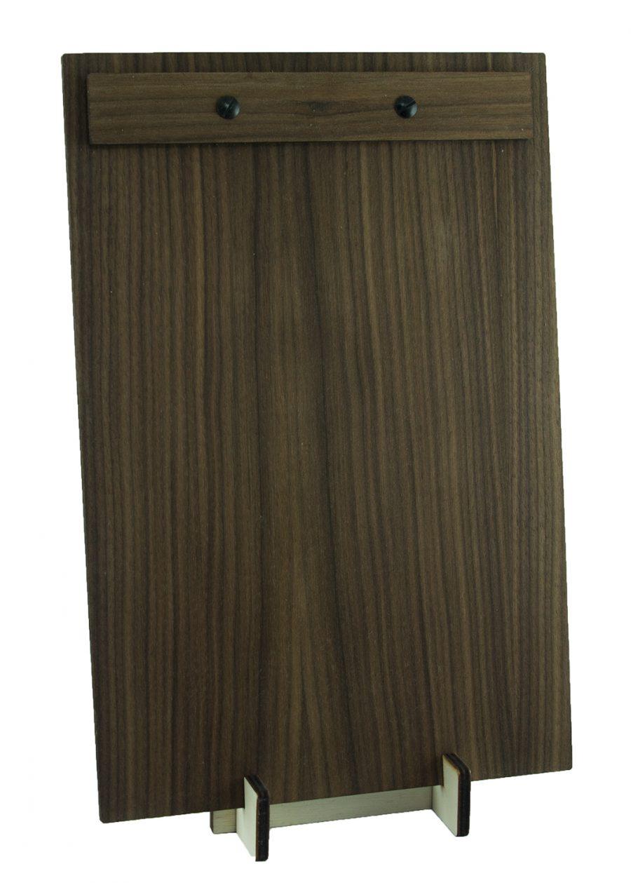 Klemmbrett aus Holz oder Holzklemmbrett